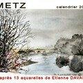 zz calendrier METZ 2007 luxe