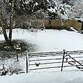Le mois de mars revet son manteau blanc