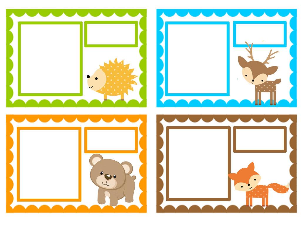 etiquettes rentree des classes theme hanitants de le foret 1 et 2 et 3 doudous patrons. Black Bedroom Furniture Sets. Home Design Ideas