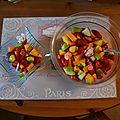 Salade de fruits ... et légume