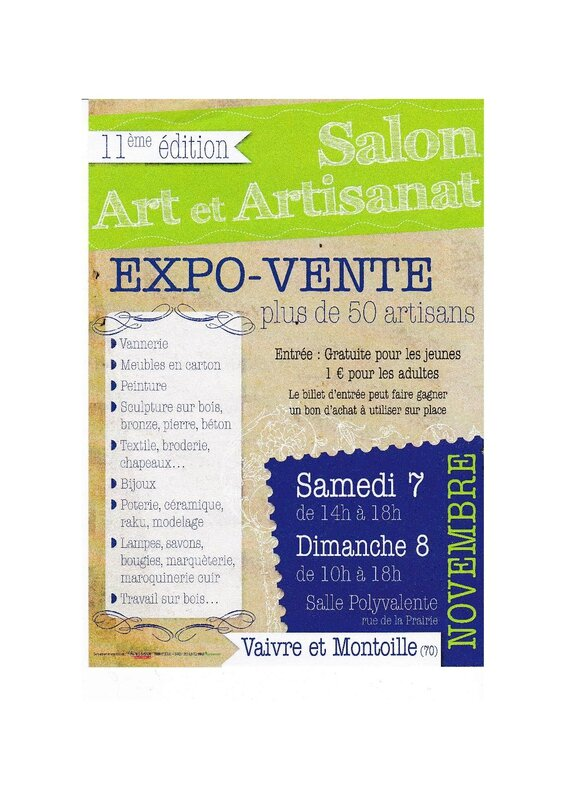 salon art et artisanat