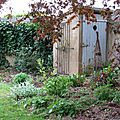 La cabane au fond du jardin...