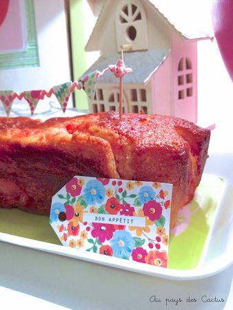 Cake fraises Tagada Au pays des Cactus 3