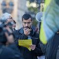 Manifestation pour les droits des Kurdes à Francfort