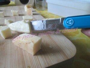 Chouquettes de purée et fromage16