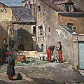 Lepère, Auguste : Episode de la commune, rue des Rosiers