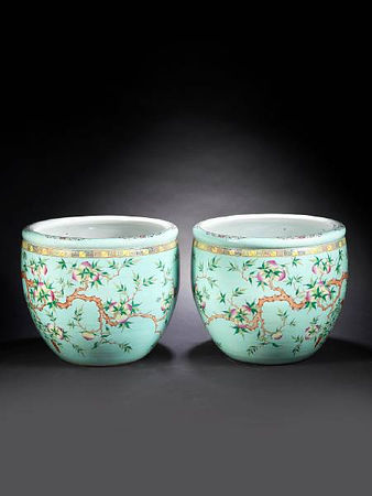 A_very_large_pair_of_famille_rose_turquoise_ground__peach__fishbowls2