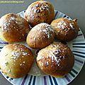 Beignets fourrés (cuisson au four)