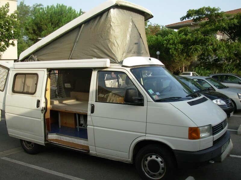 vw transporter t4 am nagement camping car gilles zephir83. Black Bedroom Furniture Sets. Home Design Ideas