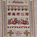 Miniature Autumn Sampler