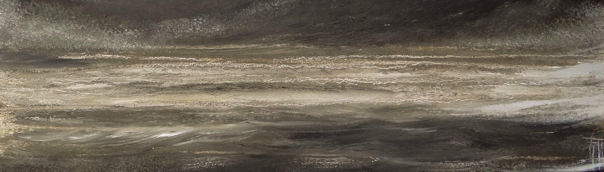 Mer du Nord - Acrylique sur toile