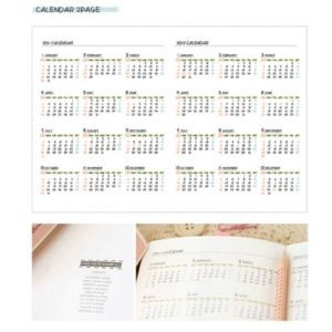 AGENDA COOKIE CALENDRIER