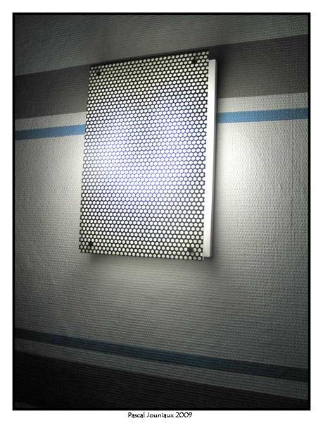 applique murale au design industriel finition pascal le bricoleux. Black Bedroom Furniture Sets. Home Design Ideas
