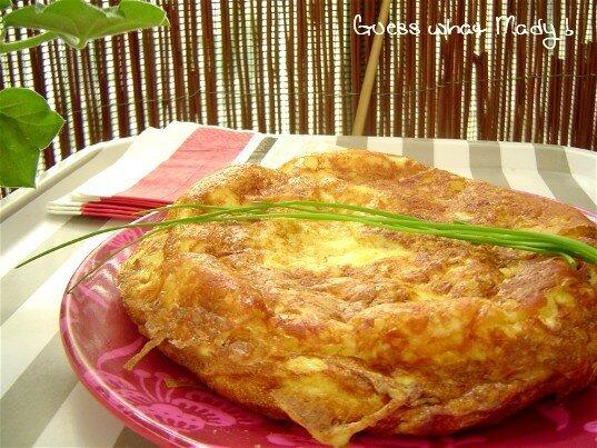 Tortilla au Rocamadour