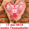 17 mai 2010 : journée internationale contre l'homophobie, la lesbophobie ...