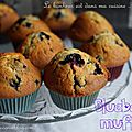 Blueberry muffins {muffins aux myrtilles}