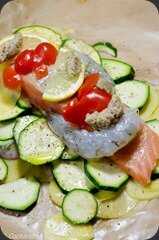Papillote_Saumon_Gambas_Courgette-7
