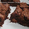 Brownie chocolat/fruits rouges