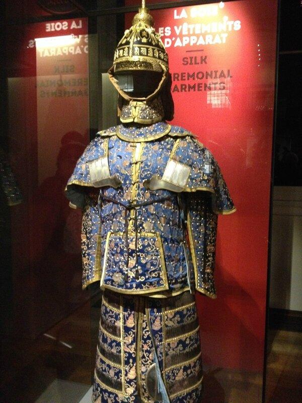 De la chine aux Arts décoratifs 017 armure imperiale