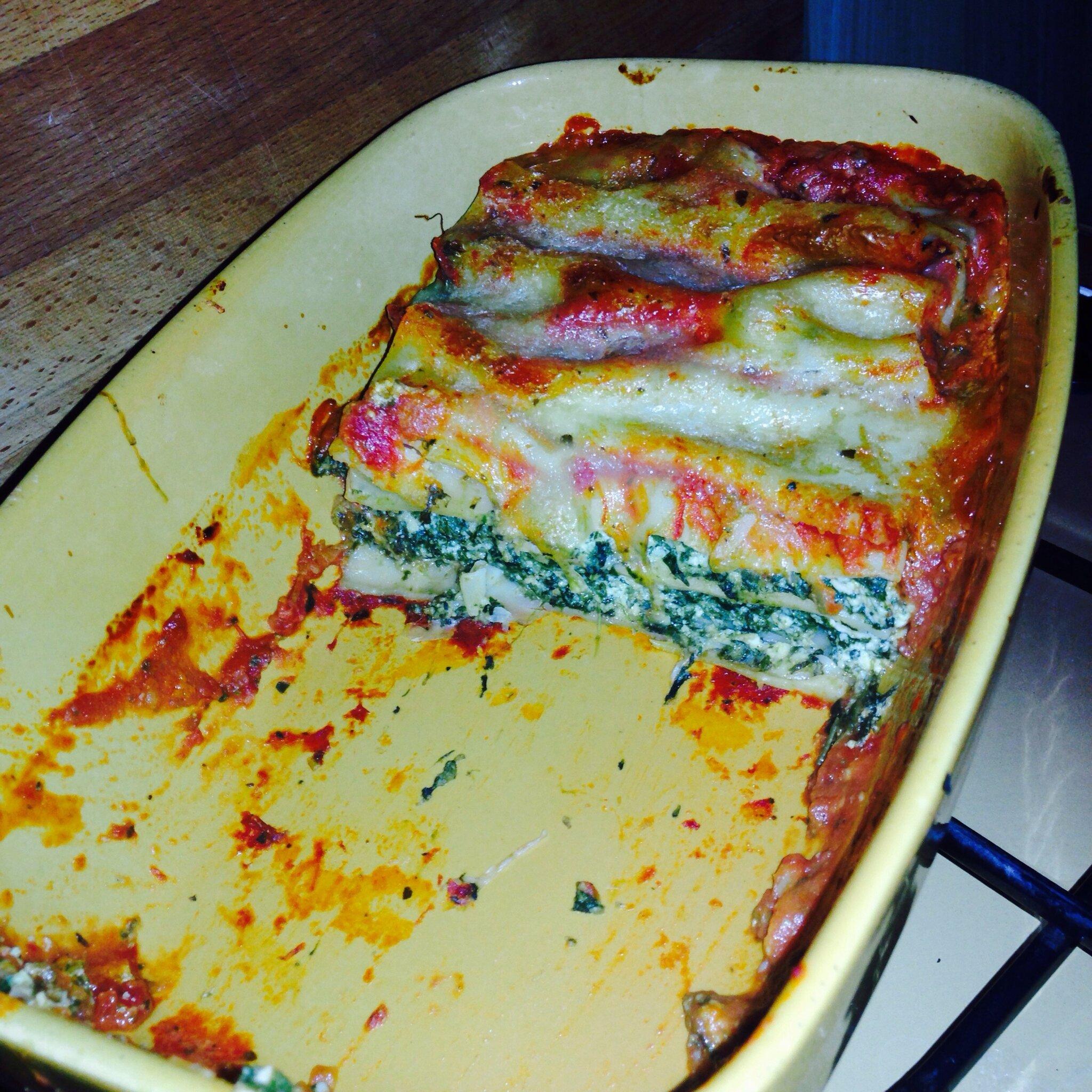 Cannellonis brousse pinard ou comment faire manger des - Cuisiner avec se que j ai dans mon frigo ...