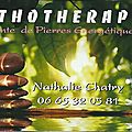 Lithotherapie -Nathalie Chatry, Elne