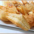 Losanges feuilletés frits, baklawa kabyle
