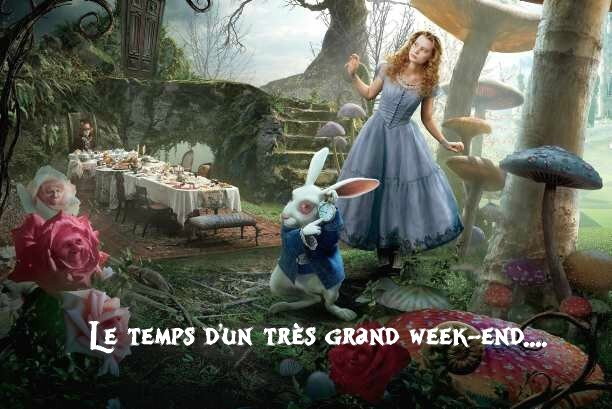 le temps d'un très grand week-end