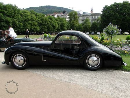 Alfa Romeo 6c 2500 ss bertone 1942 Internationales Oldtimer Meeting Baden Baden 2011 3