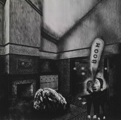 David Lynch - Interior #1 © David Lynch - Courtesy Galerie Item