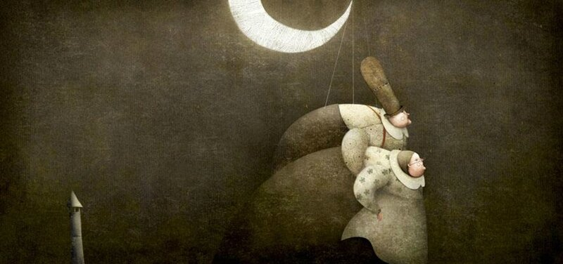 Gabriel Pacheco 1973 - Mexican Surrealist Visionary painter - Tutt'Art@ (32)