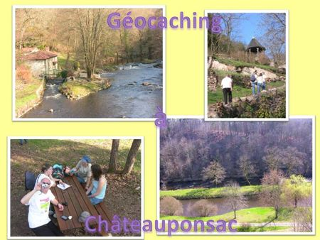 Geocaching Chateauponsac