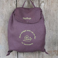 Sac___dos_Petit_Escargot_chocolat_personnalis__copieT