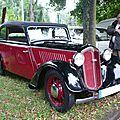 Dkw f5 découvrable 1935