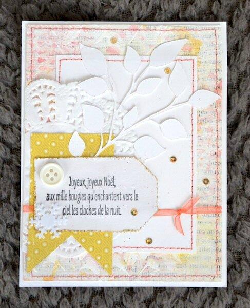 Carte de Voeux de Yolande - Janvier 2016