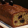 Cake pistaches - cerises amarena