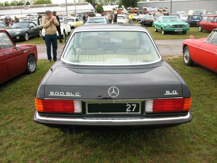 mercedes 500 slc 1980 1981 autos crois es. Black Bedroom Furniture Sets. Home Design Ideas