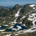 Les pics de sanfonts (2885 m), juin 2015