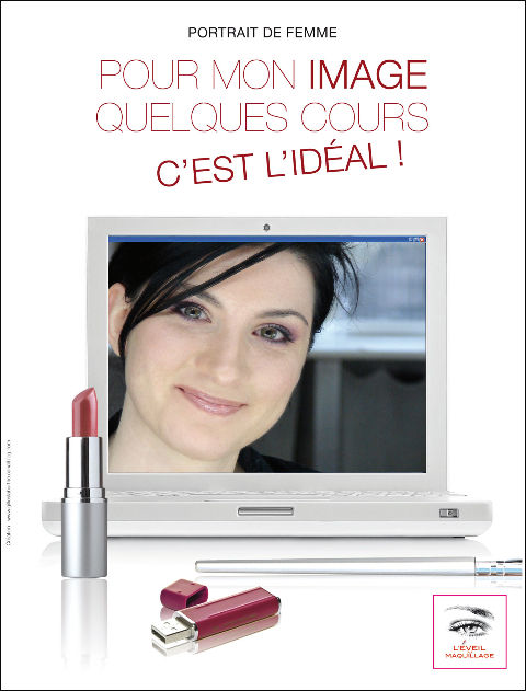 Campagne BUSINESS WOMAN 2010 © L'ÉVEIL AU MAQUILLAGE