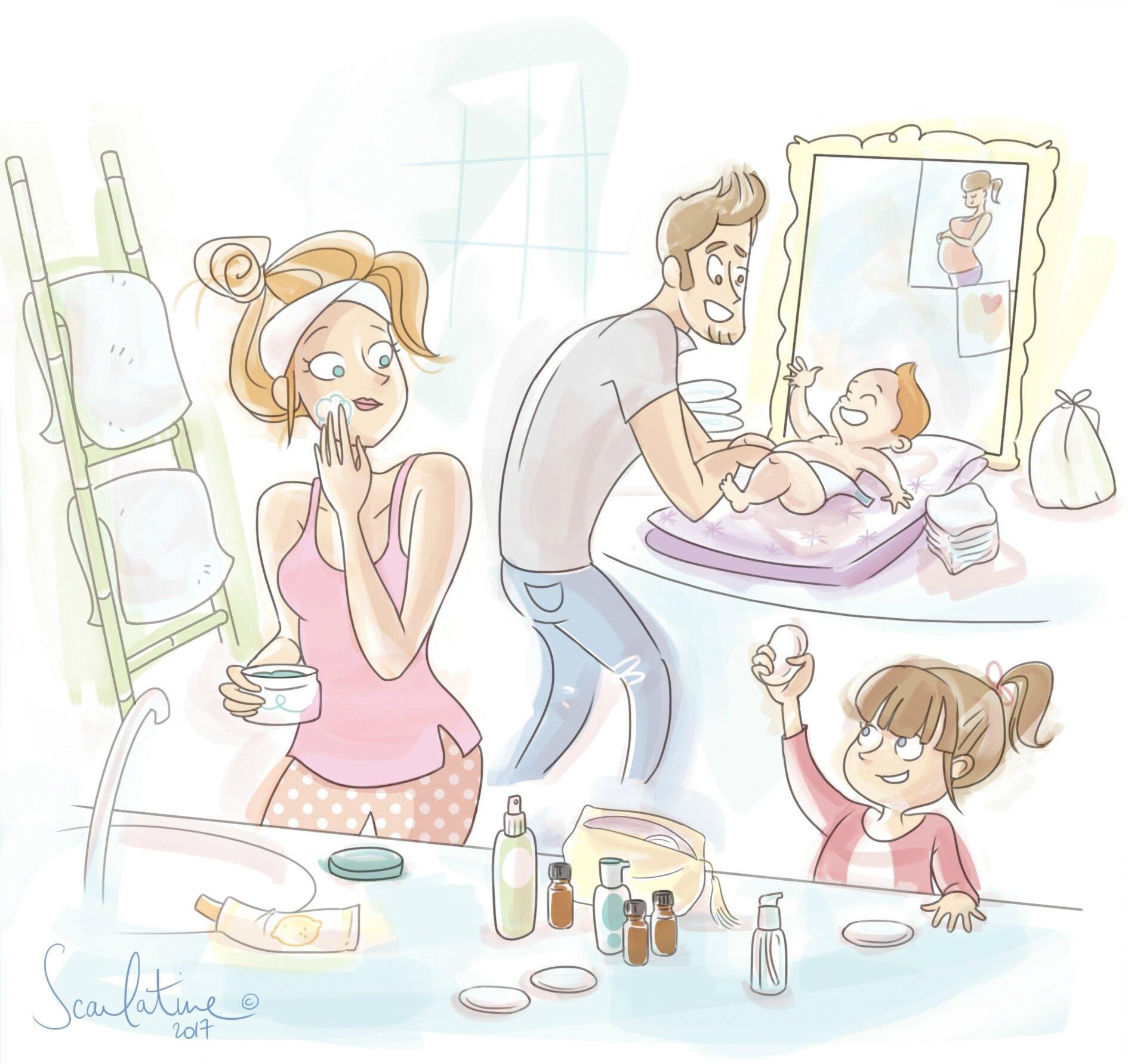 Slow cosmétique en famille