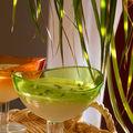Mousse noix de coco-citron vert