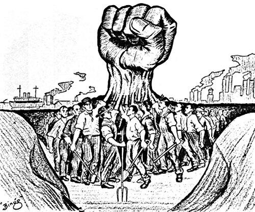 1909-bras de fer social