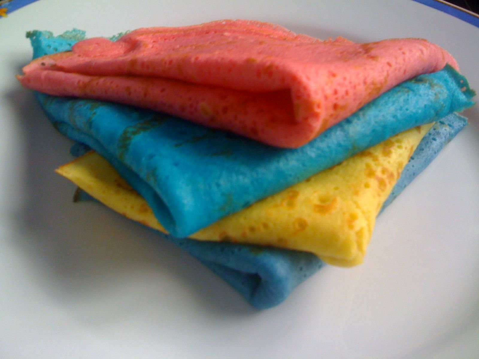 crepes couleurs