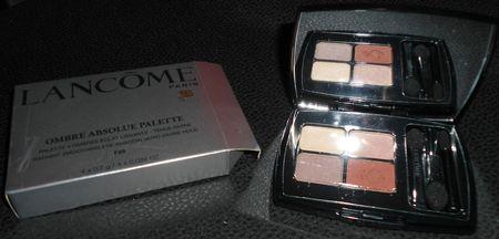 Lancôme - Ombre Absolue Palette F20 Chic
