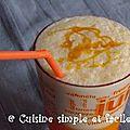Milk shake banane - caramel