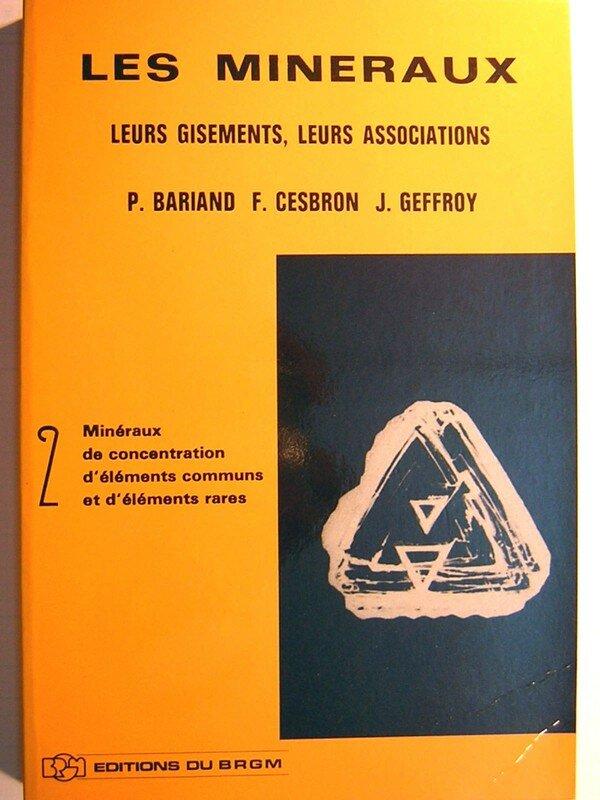 LES MINERAUX TOME 2 (BRGM)