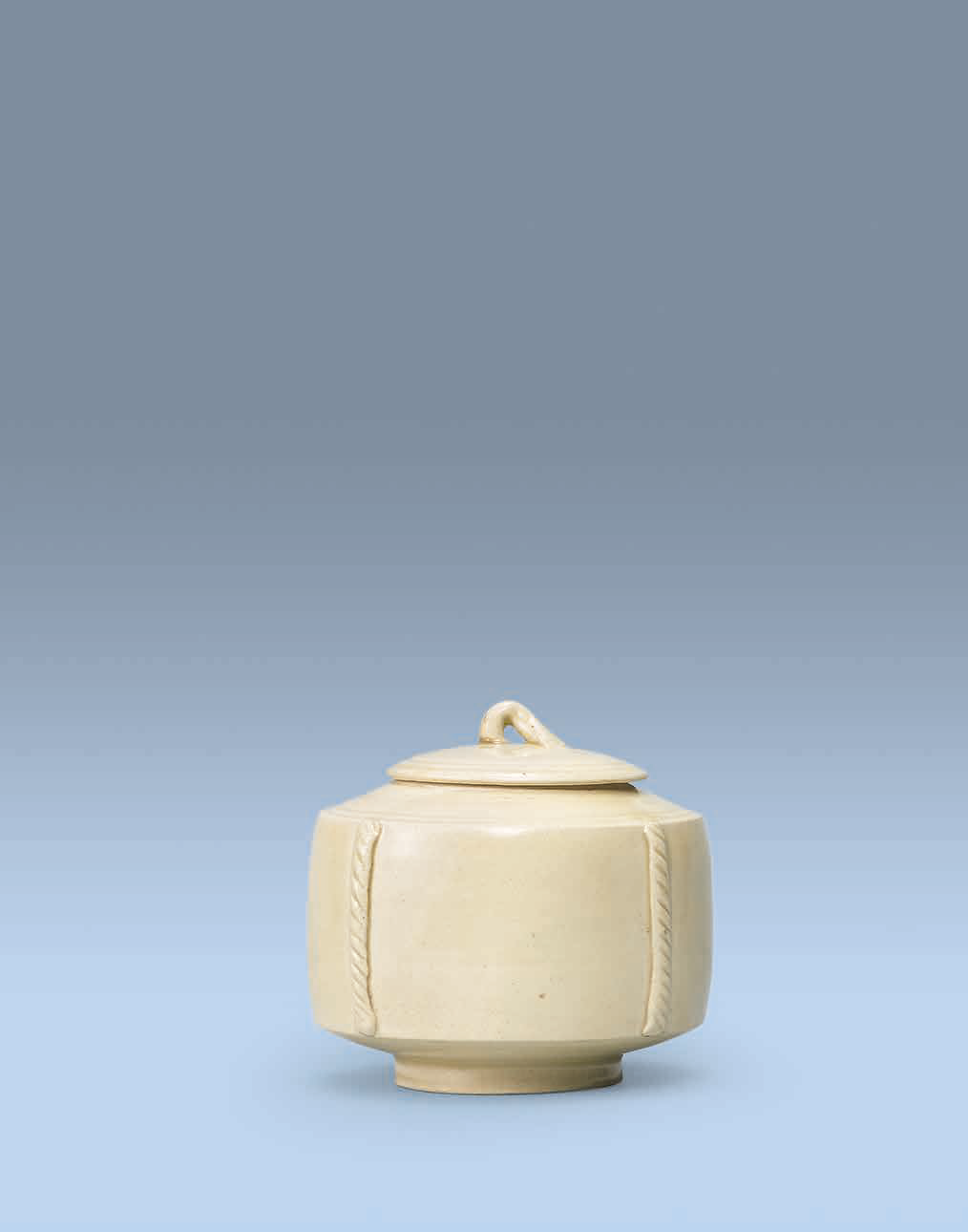 A Ding jar and cover, Late Tang-Five dynasties, 10th century