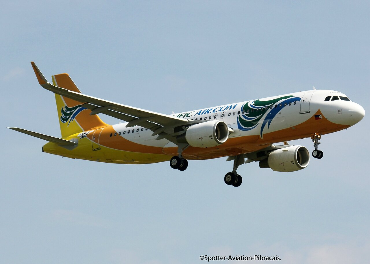 A roport toulouse blagnac cebu pacific air airbus a320 - Dhl salon de provence ...