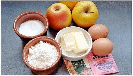 moelleux aux pommes (cookeo ou pas)1