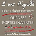 Journées Portes Ouvertes 2 et 3 sept 2016