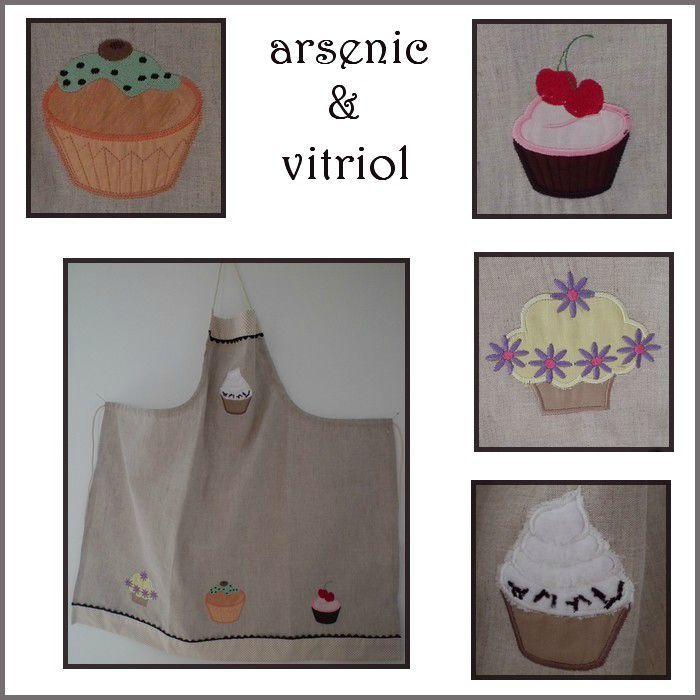 tablier cupcake blog